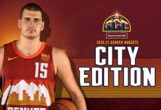 Image de l'article Maillot City des Denver Nuggets : une nouvelle référence aux Rocheuses