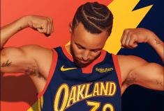 Image de l'article Le maillot City des Warriors dévoilé : un hommage à l'épopée