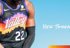 Image de l'article Le maillot City des Phoenix Suns, référence à «The Valley of the Sun»