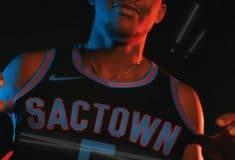 Image de l'article Le maillot City 2020-2021 des Sacramento Kings présenté par la franchise