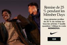 Image de l'article Nike «Single Days» : 25% de réduction sur tout le Nike Store dès maintenant!