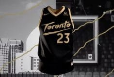 Image de l'article Maillot City des Toronto Raptors : « Bet on yourself »