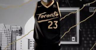 Image de l'article Maillot City des Toronto Raptors : «Bet on yourself»
