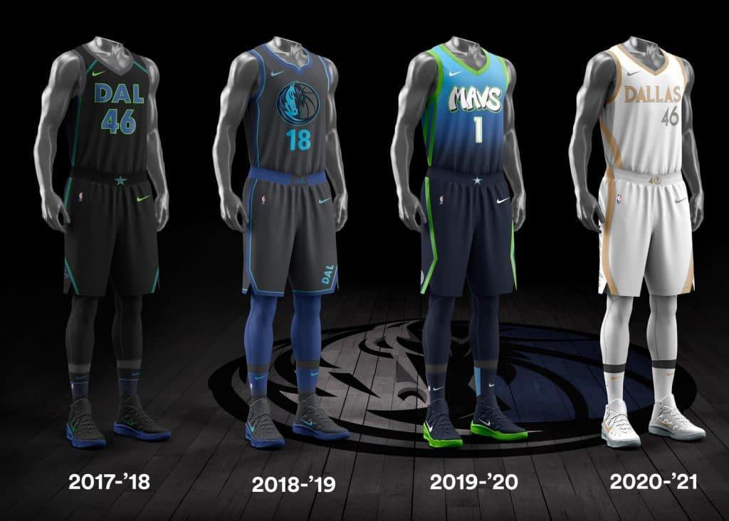 evolution maillots city NBA