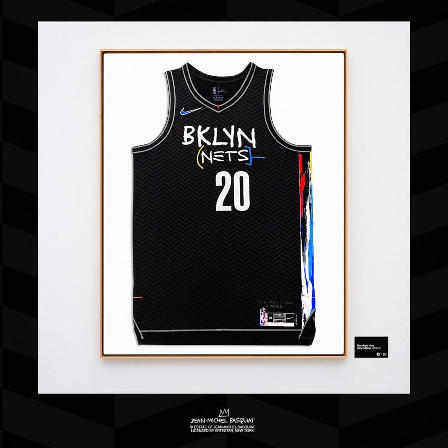 maillot city des brooklyn nets