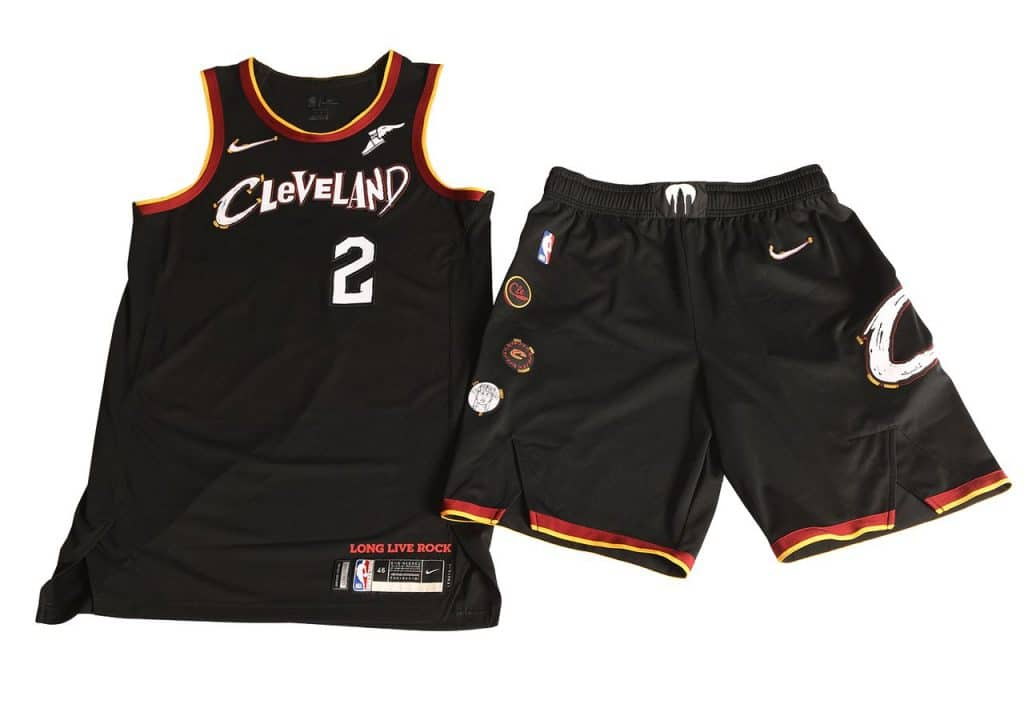 maillot city cleveland cavaliers amplified rock n roll