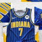 Maillot City des Indiana Pacers : le retour des rayures