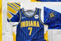 Image de l'article Maillot City des Indiana Pacers : le retour des rayures