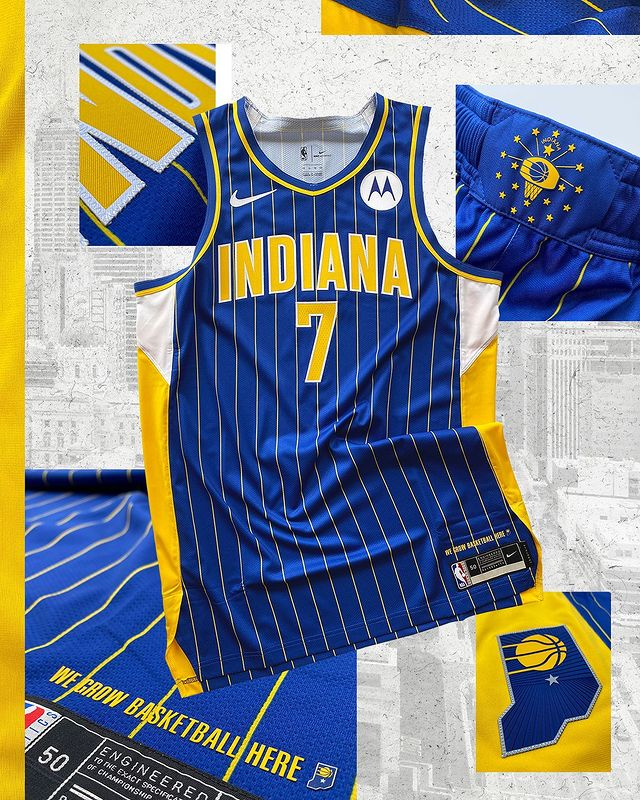 maillot city indiana pacers 2020 2021