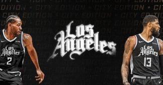 Image de l'article Maillot City des Los Angeles Clippers : un air de déjà vu!
