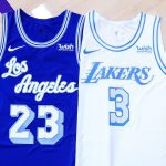 Maillot City des Los Angeles Lakers : Elgin Baylor à l'honneur