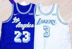 Image de l'article Maillot City des Los Angeles Lakers : Elgin Baylor à l'honneur