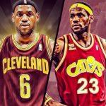 Pourquoi LeBron James joue-t-il avec les maillots numéros 23 et 6 ?