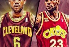 Image de l'article Pourquoi LeBron James joue-t-il avec les maillots numéros 23 et 6 ?