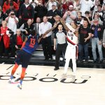 Dame 7 Lights out : un coloris OKC Thunder pour fêter le match d'antologie de Damian Lillard