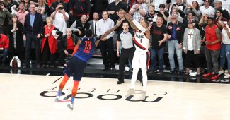 Image de l'article Dame 7 Lights out : un coloris OKC Thunder pour fêter le match d'antologie de Damian Lillard