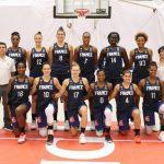 Les chaussures des joueuses de l'équipe de France féminine de basket en 2020