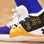 Les chaussures signature en hommage à Kobe Bryant