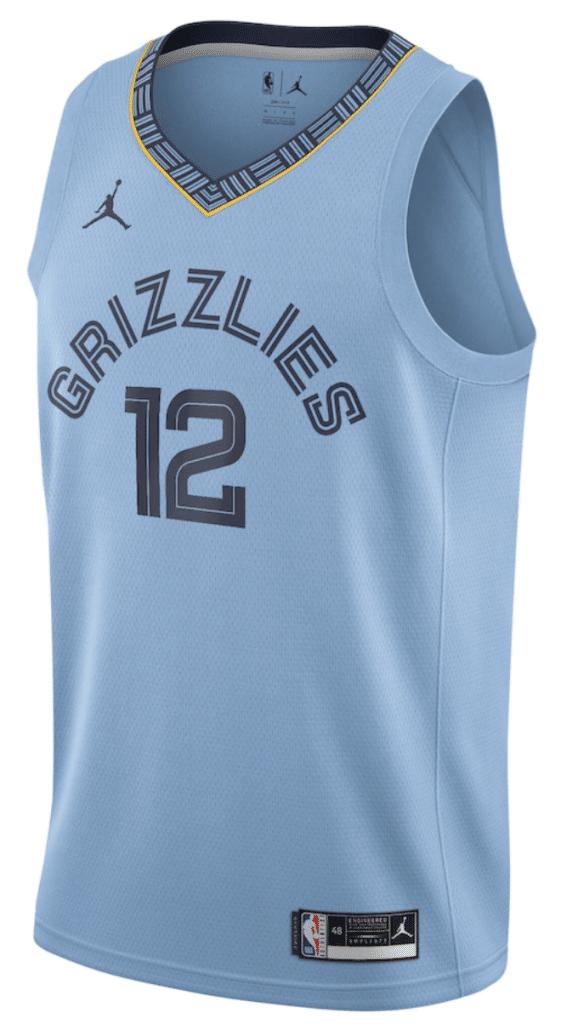 maillot statement memphis grizzlies jordan 2021