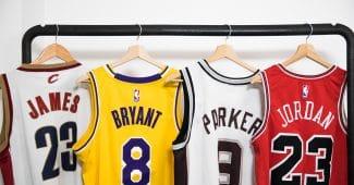 Image de l'article Maillots NBA : l'historique des équipementiers et des marques