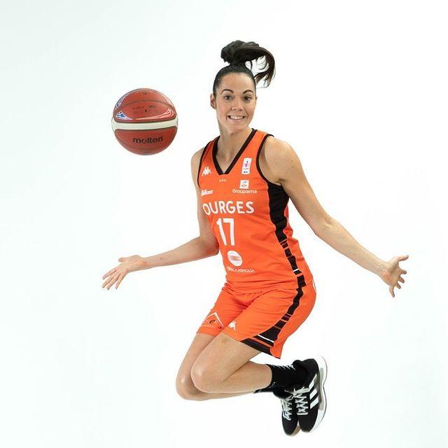 chaussure equipe france feminine basket sarah michel adidas isolation 2