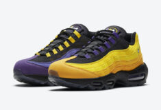 Image de l'article Air Max Day : une Nike Air Max 95 NRG adaptée à chaque maillot des Lakers