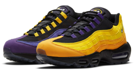 air max 95 lakers