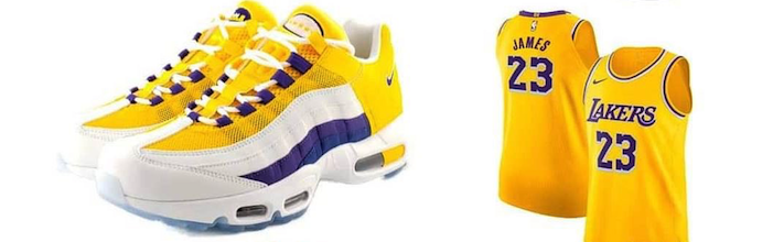 Air Max 95 NRG Lakers icon