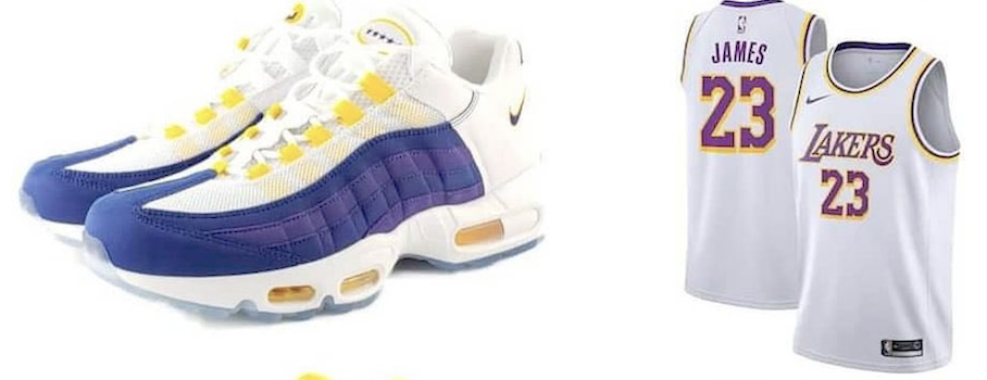 Air Max 95 NRG Lakers Association