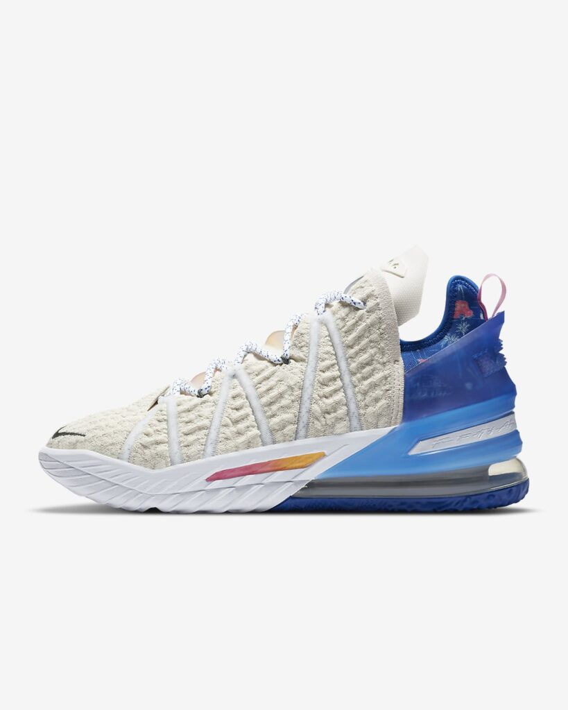 lebron 18 los angeles by day