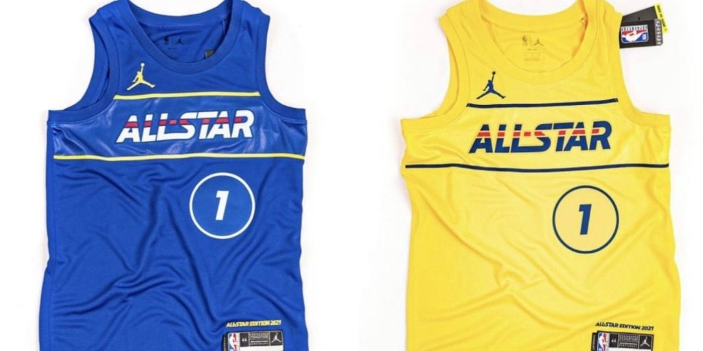 maillot all star game nba 2021