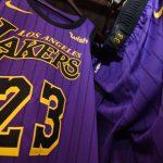 Les meilleurs ventes de maillots NBA depuis le début de saison