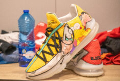 Image de l'article Lebron 17 « Childhood Cartoons » : une création de 1OFF UNIQUE pour Mathias Lessort