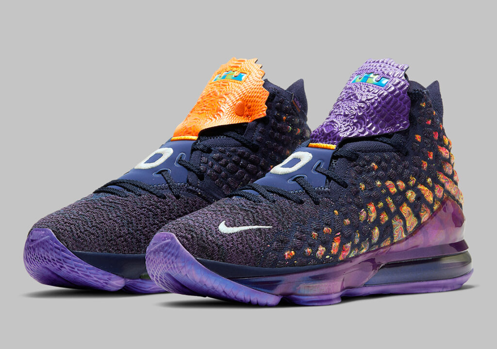 chaussures maillots space jam 2 lebron james monstars tune squad lebron 17 nike