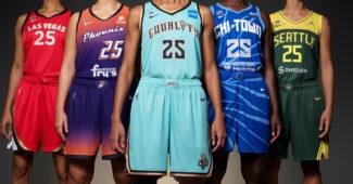 Image de l'article Maillots WNBA 2021 : Nike présente les éditions Rebel et Explorer!