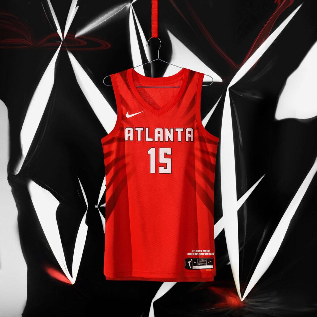 maillot nba 2021 atlanta dream explorer edition