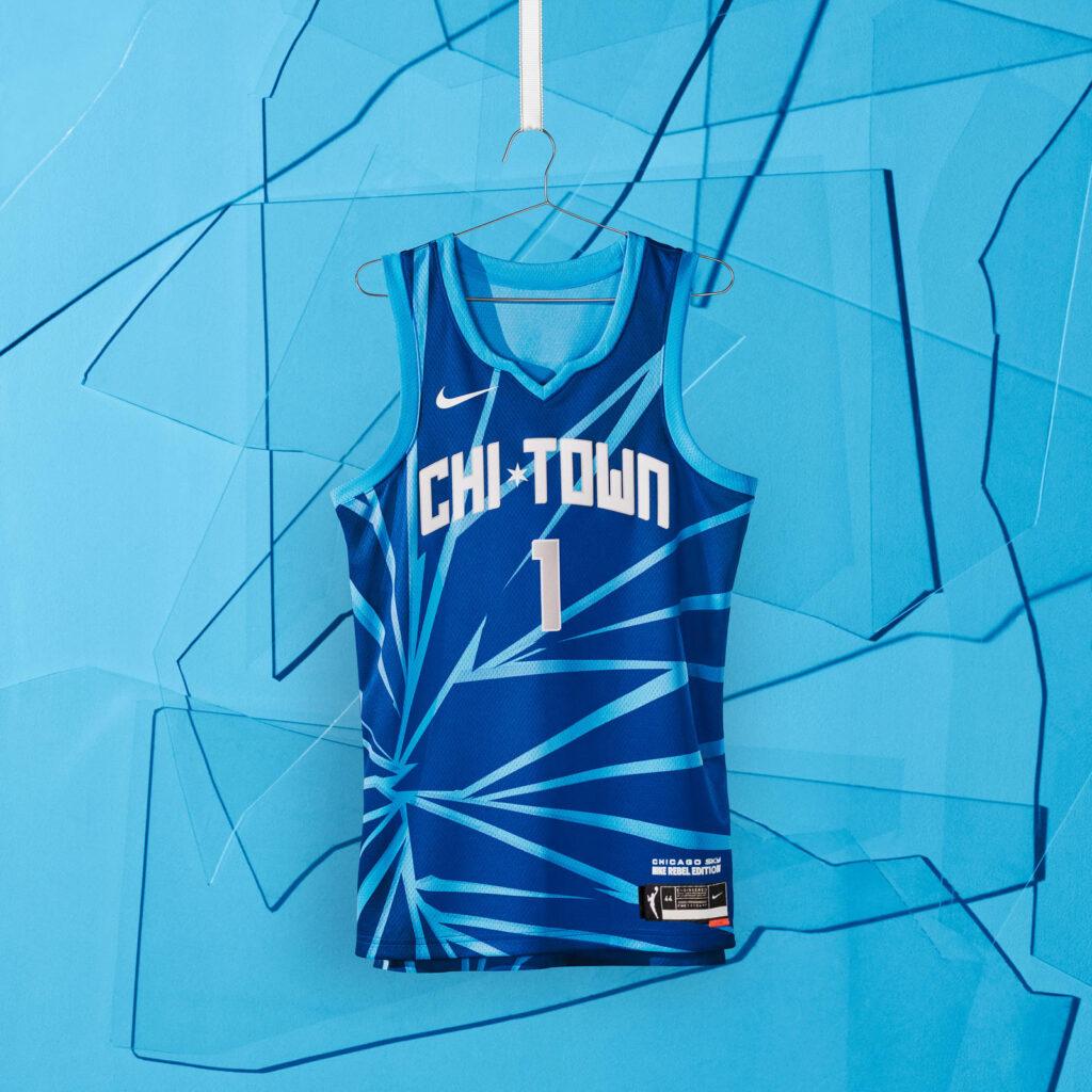maillot nba 2021 chicago sky rebel edition