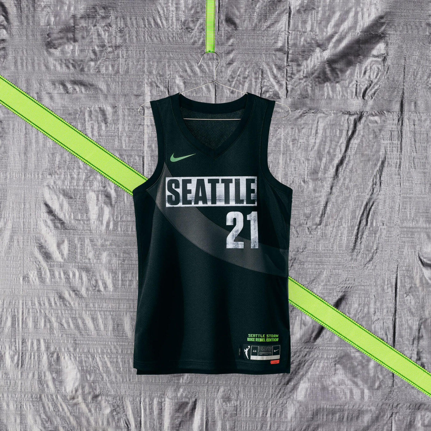 maillot nba 2021 seattle storm rebel edition