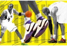 Image de l'article Les chaussures de Kobe Bryant lors de la saison 2002-2003