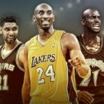 Basketball Hall of Fame 2020 : les contrats chaussures de Kobe Bryant, Tim Duncan et Kevin Garnett