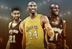 Image de l'article Basketball Hall of Fame 2020 : les contrats chaussures de Kobe Bryant, Tim Duncan et Kevin Garnett