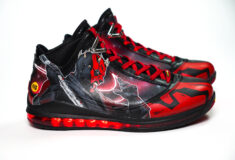 Image de l'article La LeBron 7 « Dark Maul » du champion d'europe, par 1OFF et Mathias Lessort !