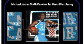 Image de l'article Un maillot de Michael Jordan de North Carolina vendu 1,13 million d'euros!