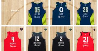 Image de l'article Nike signe 7 rookies WNBA… dont la française Iliana Rupert!
