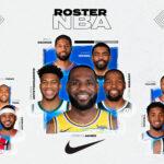 Infographie NBA : les rosters par équipementiers