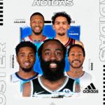 Roster NBA adidas : du beau monde!