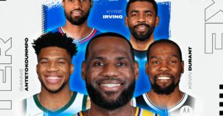 Image de l'article Roster Nike NBA : des allures de All-Star Game!