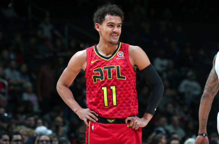 trae young maillot numero 11