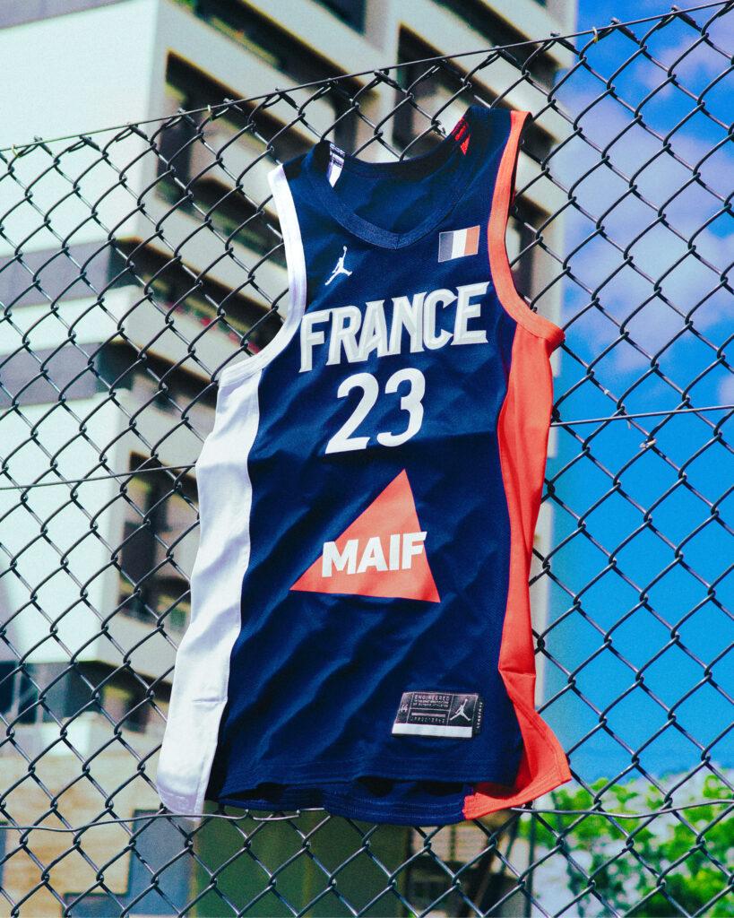 maillot equipe de france basket jordan brand