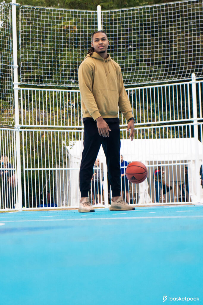 interview juhann begarin basketpack adidas